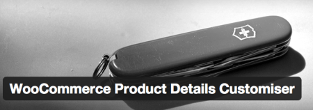 Free WooCommerce Extension Product Details Customizer