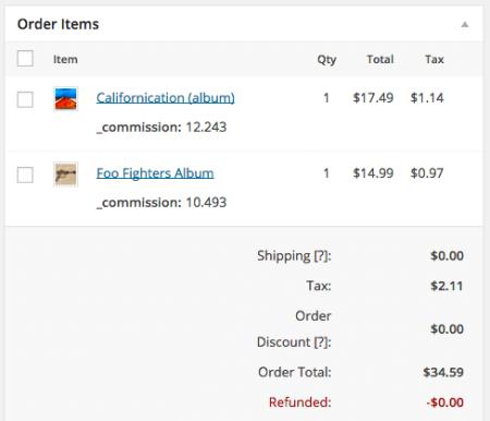 WooCommerce Marketplace: Vendor Product Sold
