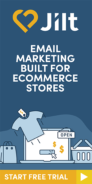 Jilt - email marketing for eCommerce