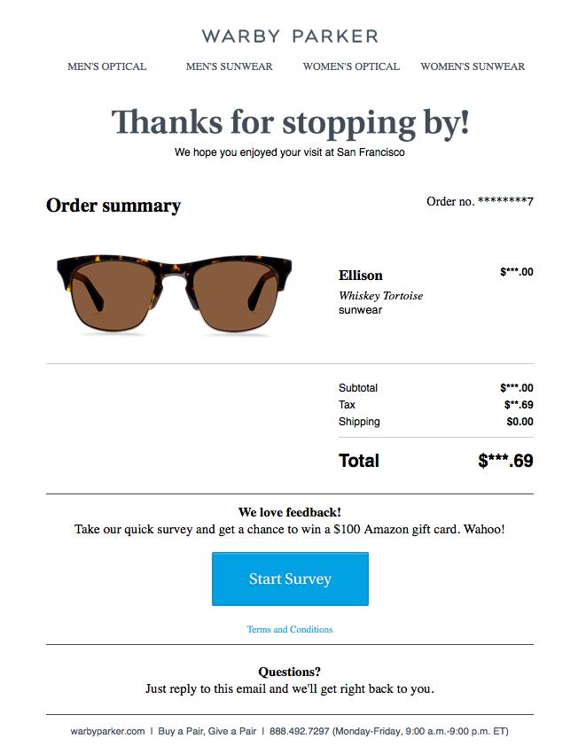eCommerce customer surveys