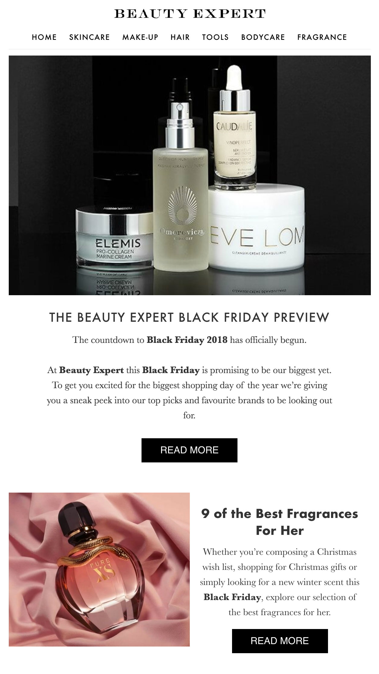 Beauty Expert's Black Friday preview.