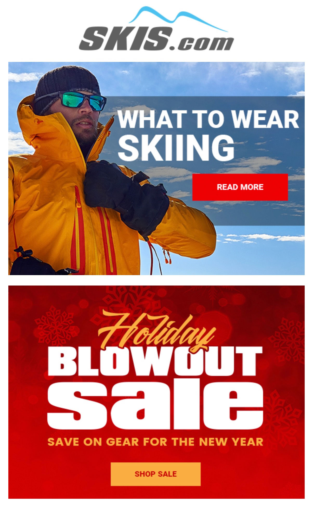 Skis.com's product content.